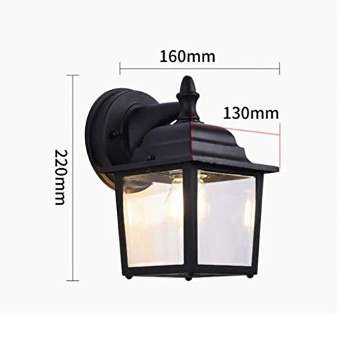 Wandlantaarn, wandlamp, kristal, spiegel, gevel, verlichting, buitenverlichting, tuinverlichting, straatverlichting, deurverlichting, wandverlichting, wandlamp, hoofd, luifel, park C. 1 exemplaar