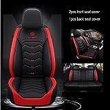 Fundas Asientos Coche Universales para Mercedes Benz W204 W211 W210 W124 W212 W202 W245 W163 Cla Gls Gla Glc Clase A / B / C / E Accesorios Coche-Estándar Rojo Negro