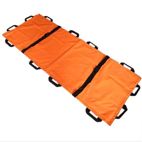Senior Lift Treppen Transferhilfe Gurt Gürtel, Disability Care Supplies weiche Bahre, Notfallrettung für Krankenhaus, Klinik,Orange,180 * 70cm