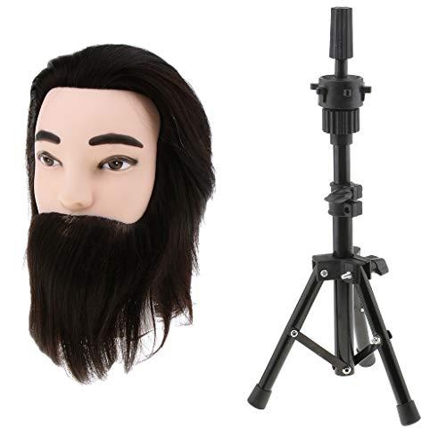 Sharplace Mini Têtes d'exercice Support Porte-coiffure avec Support Trépied