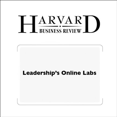 Leadership's Online Labs (Harvard Business Review) audiobook cover art