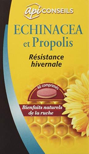 Echinacée Propolis – immunité - résistance hivernale – bienfaits naturels de la ruche – 40 comprimés – Fabriqué en France - Yves Ponroy