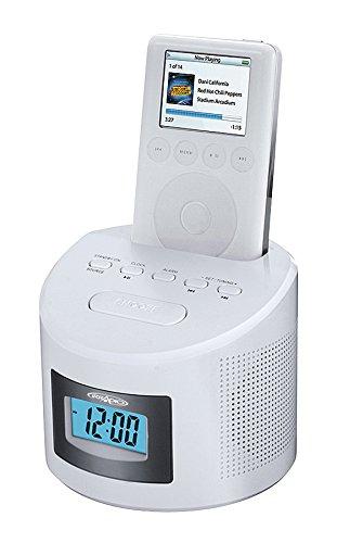 Irradio I-Clock Docking Station per iPod con Radio FM e Funzione Sveglia,...