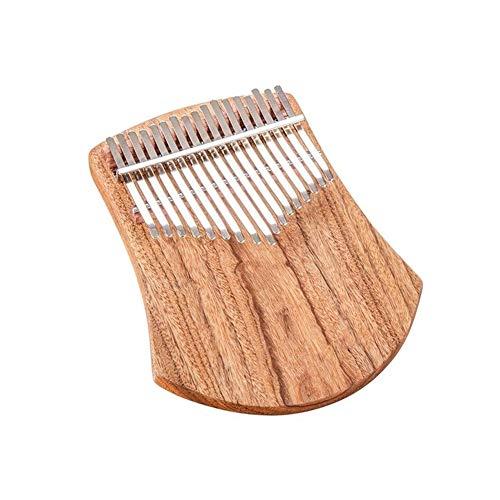 SADDPA Daumenklavier, 17 Keys Kampfer Holz Daumenklavier Finger Percussion Qualitätshölzerne Musikinstrument (Color : K17CAS)