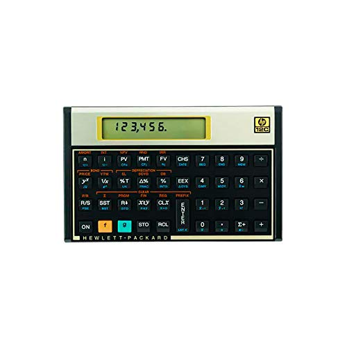 Calculadora Financeira HP, hp 12C Gold F2230A#B17