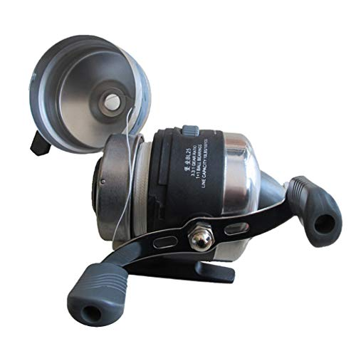 NON Carrete de Pesca Spincast de Acero Inoxidable 1 + 1BB 3.1: 1 Carrete de Agua Salada Under-spin