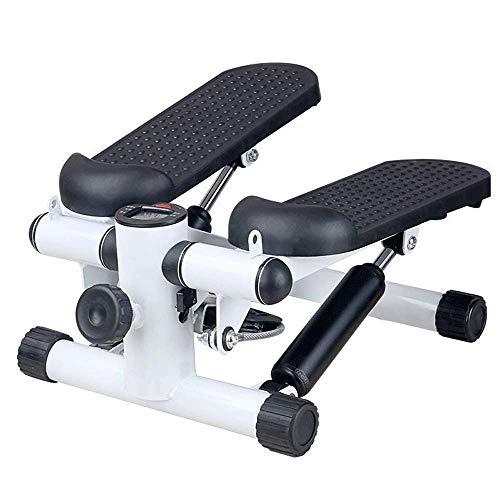 Nuokix Deporte Paso a Paso de Aire Ajustable Paso a Paso aeróbico Ejercicio de la Aptitud de la máquina Negro Mini de Pasos (Color: Negro, tamaño: tamaño Informal) Cardio Training elípticas