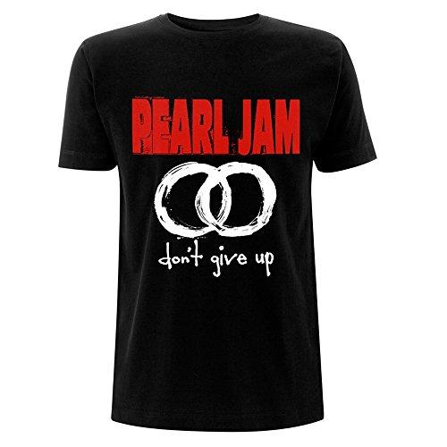 Pearl Jam Camisetas - para Hombre Negro Negro Small