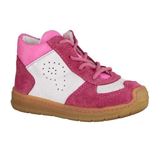 RICOSTA Chaussures Premiers Pas pour Bébé (Fille) - Rose - Rose Bonbon, 19 EU