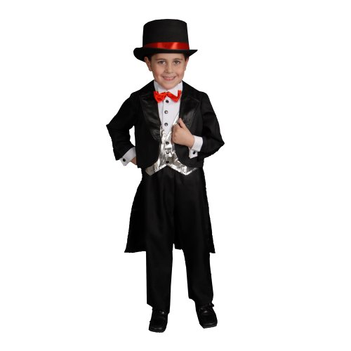 Dress Up America Costume de smoking noir pour enfants