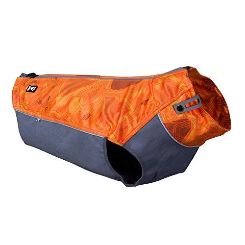 Hurtta Gilet de travail pour chien de chasse ou de sport - Camouflage orange - Taille M