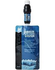 Sawyer PointONE Squeeze SP129 waterfilter met 2 x 1L, opvouwbare drinkzak en adapter SP110
