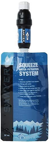 SAWYER PRODUCTS PointONE Squeeze & Microsqueeze Wasserfilter Wasseraufbereiter Trinkwasser in Diverse Sets (SP129 Squeeze Filter)