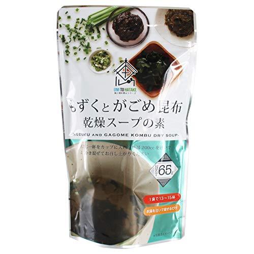 沖縄もずくとがごめ昆布とろーっとスープ 65g
