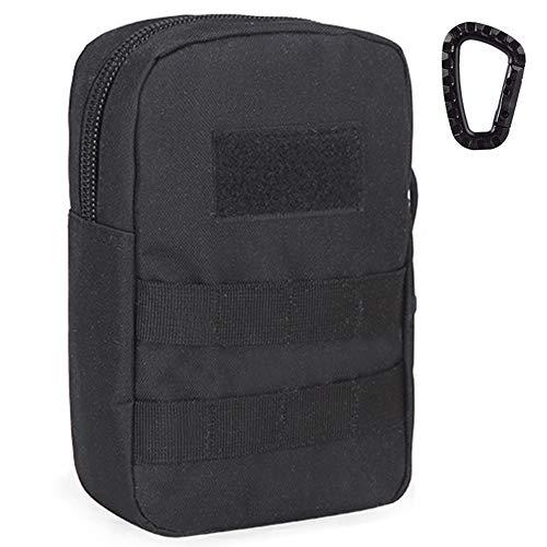 EDC Kompakte taktische Molle-Tasche, klein, Utensilientasche, Organizer-Tasche für Erste-Hilfe-Medizin-Ausrüstung