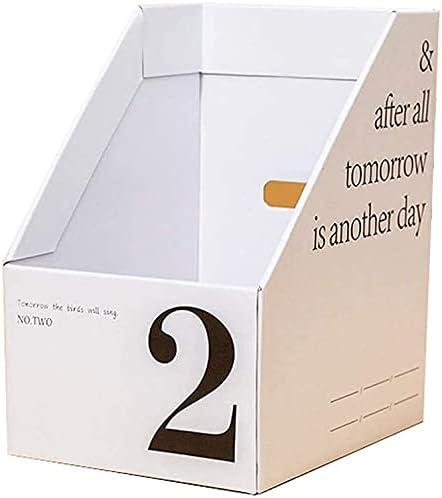 Home Decor Bookends Paper Desktop Bo Box Popular overseas Organizing Max 73% OFF DIY