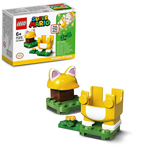 LEGO 71372 Super Mario  Ensemble d'extension - Costume de Mario Chat