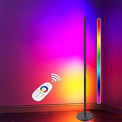 Bbtops Corner Floor Lamp - RGB Modern Floor Lam...