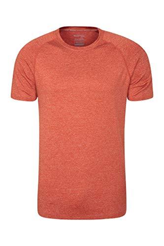 Mountain Warehouse Camiseta a Rayas IsoCool Agra para Hombre - Protección UPF30+...