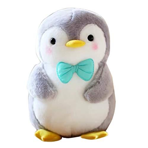 Muium(TM) Peluche de pingüino de peluche, suave, con relleno de algodón, para vacaciones, regalo para niños