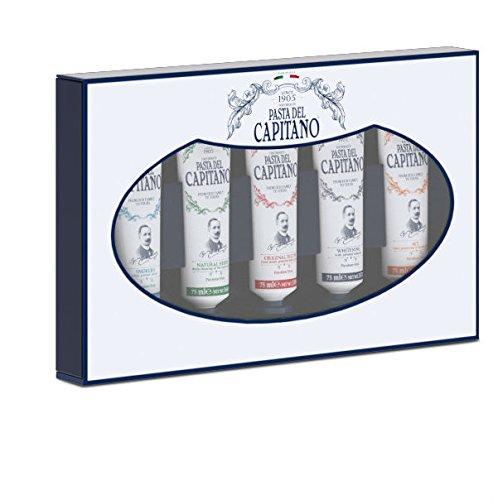 Pasta del Capitano 1905 Couvette Dentifrici 75 ml - Pacco da 5x75 ml