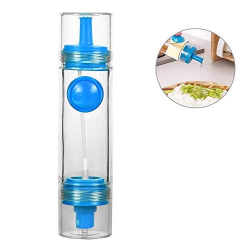 Sprühen Sie Artheimöl, heraus tragbare Doppelkopfgewürzflasche des Sesamsölsauce im Freien quantitative Grillölessigflasche