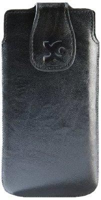 Suncase 42012822 - Funda de cuero para Nokia Lumia 620, color negro