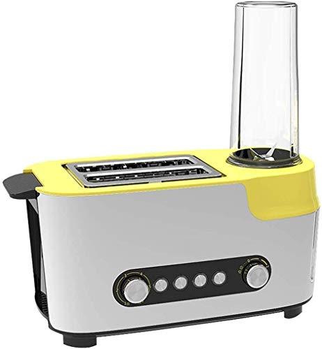 ZJN-JN Brotbackautomaten Vollautomatische Toaster Multifunktionale Frühstück Maker Sandwich-Maschine Saft-Flaschen-Vakuum Preservation for 12 Stunden, Doppelseitiger Schnellback Toast lxhff Küchengerä