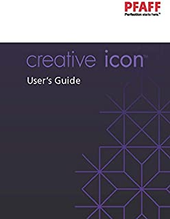 PFAFF Creative Icon Sewing Machine Instructions Manual Owners Guide COLOR COPY REPRINT