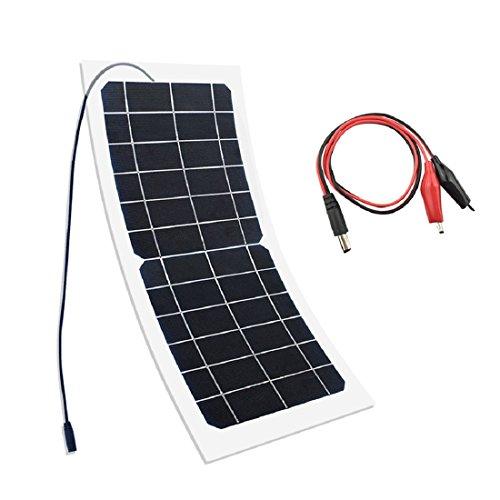YUANFENGPOWER 10 W 6 V monokristallijn zonnecel voor camping, auto, boot, camera, outdoor opladen