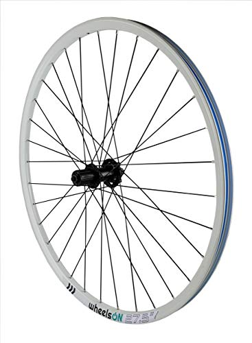 27.5 inch 650b Rear Wheel Mountain Bike for 8/9/10 Speed Cassette White Quick Release