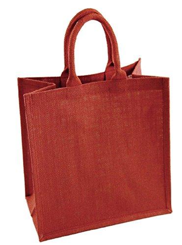 Desconocido Unknown Sac en tissu pour femme Rouge