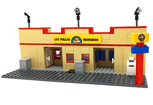 Los Pollos Restaurant - Bloques de construcción (388 bloques de sujeción, escala mini)
