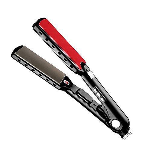 Curling Wand Rizador de Pelo Curler de alta temperatura placas anchas Keratin...