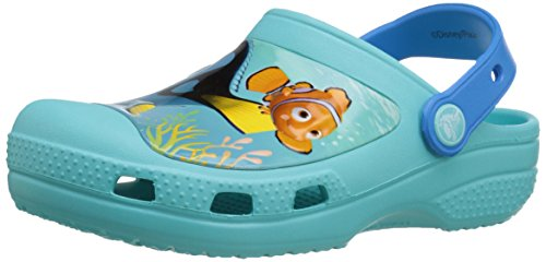 Crocs Creative Crocs Finding Dory Clog Kids, Unisex - Kinder Clogs, Blau (Pool), 27/29 EU