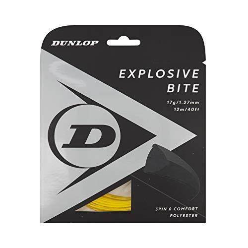 Dunlop Tennissaite Explosive Bite gelb, 17 g, 1 Set