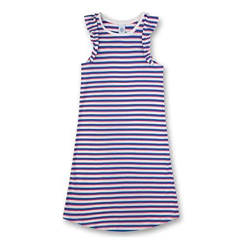 Sanetta - Mädchen Nachthemd, Cornflower, Streifen - 244730, Größe 152