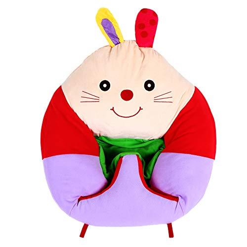Silla tapizada para niños, sofá para niños Costzon, no es fácil de plegar, más gruesa y más ancha para niñas, hogar, dormitorio, niños(rabbit)