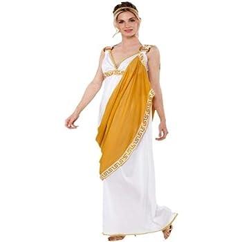 Fyasa 706247-t04 romano Lady disfraz, tamaño grande: Amazon.es ...