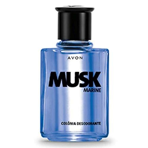 Colônia Desodorante Musk Marine 90ml