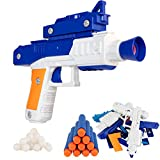 Zetz Brands Take Apart Dart and Ball Blaster - Boys Toy Shooter Gun Construction Kit - Educational Stem Toy for 8-12 Year Olds