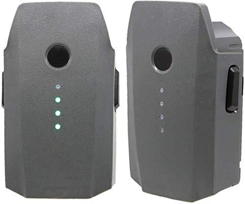 Paquete de 2 baterías de Vuelo Inteligentes LiPo de 3830 mAh compatibles con dji Mavic Pro, dji Mavic Pro Platinum, dji Mavic Pro Alpine White Drone (no Apto para Mavic 2)