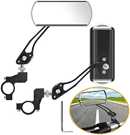 Bicycle Mirrors for Handlebar A Pair of 360 Rotation Bike Mirrors Handlebar Rearview Mirror product image
