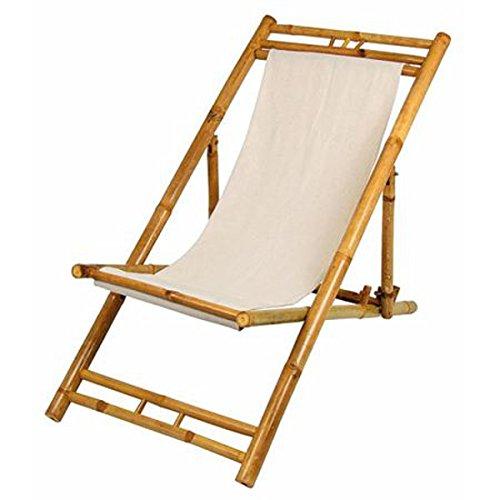 Unbekannt Bambú Tumbona Beige Hamaca Playa