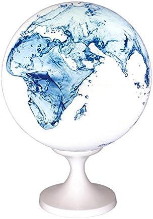 Globe 28 cm waterwereld design verlicht