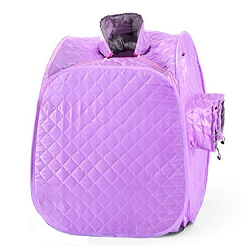 Yxx max Machine portative de Fumigation de Machine à Vapeur de Vapeur de pièce de Vapeur de ménage portatif de saunas (Couleur : Purple, Taille : 3.5L)