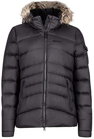 Marmot Ithaca Women s Down Puffer Jacket Fill Power 700 Jet Black X Small product image
