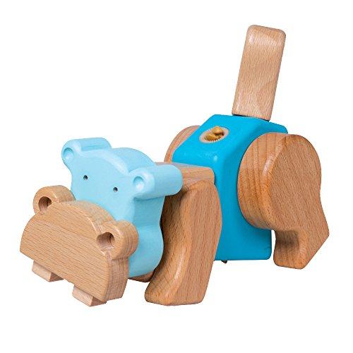 Small Foot Company - 9836 - Jeu De Construction - Kit Créatif - Hippopotame