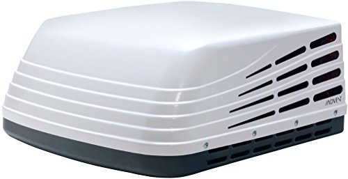 Advent ACM150 Rooftop Air Conditioner, White, 15000 BTUs, 115 Volt AC Power, Three Fan Speeds Installs; Premium, Thick, Watertight Vent Opening Gasket with Six Dense Foam Support Pads
