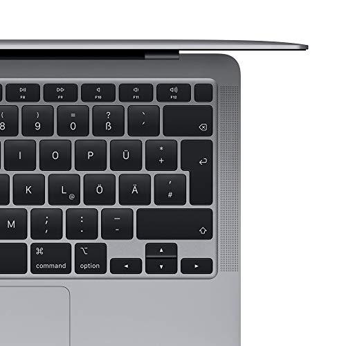 2020 Apple MacBook Air (13, 1,1GHz dual-core Intel Corei3 Prozessor der 10.Generation, 8GB RAM, 256 GB) - Space Grau
